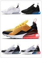 gökkuşağı basketbol ayakkabıları toptan satış-NIKE AIR MAX 270 shoes 2019 Çocuklar Atletik Ayakkabı Çocuk 27c Basketbol Ayakkabı Kurt Gri 270 s Toddler Spor Gökkuşağı Erkek Kız Toddler Yürüyüş koşu Sneakers oynarken