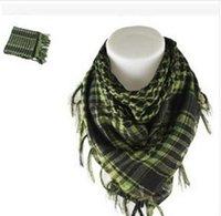 arab scarf großhandel-Arabischer Keffiyeh Shemagh-Schal Militärische Taktische Schals Verdickter Hijab Windproof Bandanas Motobike Palestine Scarf