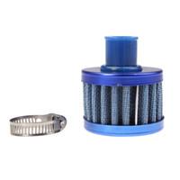 filtros de ar de cone venda por atacado-Universal Car Cleaner Filtro de Ar Do Carro Entrada de Ar Frio Auto Mini 12mm Tampa Da Válvula Reutilizável Cárter Ventilação Respiradouro Cone Frio 001