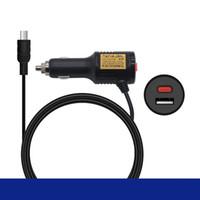 adaptateur 36v achat en gros de-12v-36V Universal Mini USB adaptateur chargeur allume-cigare Câble d'alimentation pour la voiture de navigation GPS DVR Caméra 2.4A