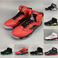 sapatos de basquete de estilo superior venda por atacado-Mars 27c PSG PARIS TOP 3 tênis de basquete Mix 1 4 5 6 Estilo brilho verde Fire Red Grape quebrado encosto Citrus Designer Esporte Sneakers