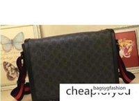 Wholesale men s messenger bags resale online - Well known Brand Classic Designer Fashion Men S Messenger Bag Casual Business School Backpack Shoulder Bag Cm