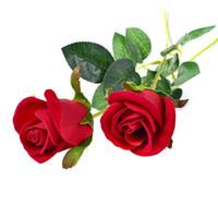 sihirli numaralar çiçekler toptan satış-Yapay Kırmızı Gül Çiçek Düğün Gelin Buketi sevgililer Günü veya doğum günü Önerin Parti Magic Trick Sahne Ev Dekorasyonu
