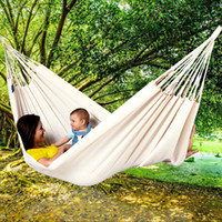 Wholesale Swing Bed Backpack Hanging Chair Cotton Hammock Survival Outdoor Travel Top Quality Equipment