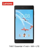Wholesale tablet wifi gps quad for sale - Group buy Lenovo inch LTE G phone call G RAM G ROM quad core bit android tablet pc GPS mAh wifi TB N tb essential MTK