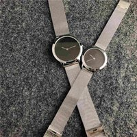 relojes masculinos delgados al por mayor-2019 Relogio Masculino Black Wristwatch Dropshipping New Brand Men Watch Bracelet Ultra-thin Mens Designer Watches Reloj de cuarzo masculino