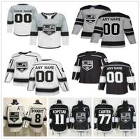 Wholesale kovalchuk jersey resale online - Custom Los Angeles Drew Doughty Kings Kopitar Jonathan Quick Ilya Kovalchuk Men Women Kids Youth Ice Hockey Jerseys