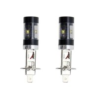 Wholesale high power fog lights for sale - Group buy 2pcs High Bright White H1 W SMD LED Car Fog Lamp Replacement Bulb High Power DC12V Driving Lights Car Accessories