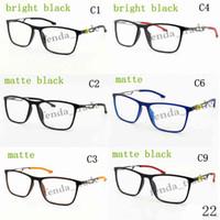 grand cadre 2018 nouveau cadre de lunettes de mode, poids plaine Optique cadres  femmes hommes lunettes PC Lunettes TR90 Ultra-léger matériel 8721af86f705