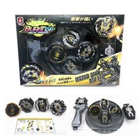 Wholesale beyblade metal masters toys resale online - New set Beyblade arena stadium Metal Fusion D Battle Metal Top Fury Masters launcher grip children christmas toy Y200109