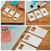 Wholesale bottle opener styles for sale - Group buy Three very innovative and fashionable style stainless steel bottle opener beer bottle opener household bar tools T3I5079