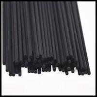 Wholesale aromatherapy scent diffuser resale online - Reed Diffuser Sticks MM CM Rattan Home Fragrance Hard Sticks Black Fiber Refill Aromatic Sticks pieces