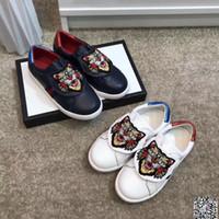 baby-mode schuhe plaid großhandel-2019 mode kinder mädchen jungen schuhe trend designer babyschuhe qualität designer luxus kinder shoes-0115-1