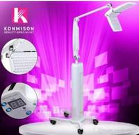 machines de peau menées professionnelles achat en gros de-High Tech New Style Beauty Salon Utilisation PDT LED Machine De Rajeunissement De La Peau Thérapie De Luminothérapie Photon Machine Avec 7 Couleurs Professionnel Avec CE