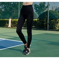 Wholesale yoga pants for women for sale - New High waist Hip up Tight fitting Bottom Pants for Women Sports Fitness Running Fast drying Yoga Pants in