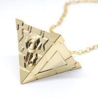 objets de bijoux achat en gros de-Duel monstres cosplay collier Belle Yu Gi Oh Yugioh Millenium mans pendentif Bijoux À Sept Artefacts pharaon jouet block
