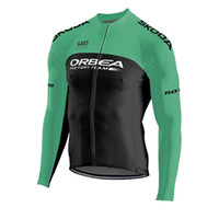 2019 ORBEA team Cycling long Sleeves jersey mtb Bicycle Sport Wear Quick Dry Long sleeve Racing Clothes U91023