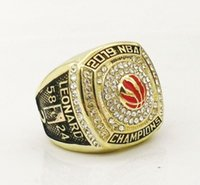 Wholesale crystal rings for sale - Group buy 2019 Toronto Raptors Championship Ring TideHoliday gifts for friends