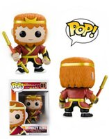 Wholesale educational monkey toys for sale - Group buy Monkey King Asia Funko Pop Vinyl Figure Toy Journey Pilgrimage to the West