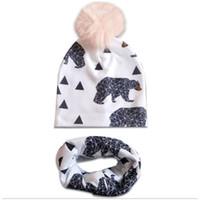 Animale berretto cappello di peluche Orso Orso Polare-Bambini Berretto