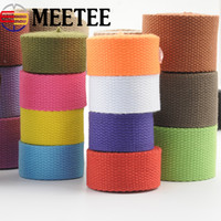 Wholesale clothing labels for sale - 8Y Thick Canvas Cotton Webbings High Tenacity Backpack Strap Webbing Label Ribbon Sewing Tape Bias Binding Clothes Craft KY363