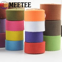 Wholesale clothing labels for sale - Thick Canvas Cotton Webbings High Tenacity Backpack Strap Webbing Label Ribbon Sewing Tape Bias Binding Clothes Craft KY363
