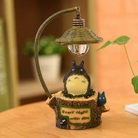 produtos japoneses venda por atacado-Criativa bonito estatueta gato ornamentos noite luz japonesa bens diversos ofícios da resina Boutique casa de estudantes presentes atacado