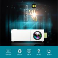 ingrosso miniature guidate-Mini proiettore portatile HD YG310 con intrattenimento a LED