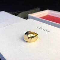 partido de partes al por mayor-2019 de calidad superior de latón simple anillo de material en oro chapado mujeres partido regalo de la joyería club de noche de bodas cada parte gota envío PS5578