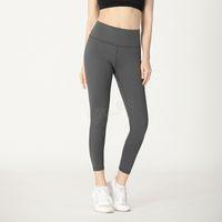hızlı kuru yoga pantolonları toptan satış-Kadın L Hızlı Kuru Tayt Spor Seksi Spor Yoga Pantolon Spor Sıkı Egzersiz Spor koşu Spor Pantolon LJJA3051