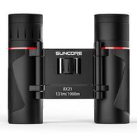 Wholesale telescope 8x21 for sale - Group buy 8X21 High Power Binoculars Compact Folding Travel Mini Binocular BAK4 Prism Glasses Protable Telescope For Hunting Travel