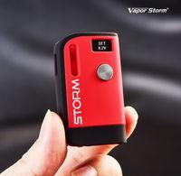 cigarette électronique cuivre mod achat en gros de-Nouvelle batterie Vapor Storm S1 Mod 800mAh Tension réglable Batterie 510 fils Vape Box Mod écran de visualisation batterie VS Imini Palm Vmod