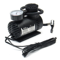 Wholesale compressor for sale - Group buy Portable Mini Air Compressor Vehicle Electric Tire Inflator Pump V PSI