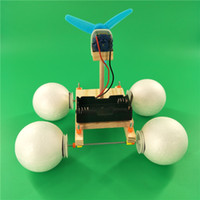 amphibious vehicles 2021 - Science popularization model experiment and assembly materials made by DIY technology small school of amphibious vehicle