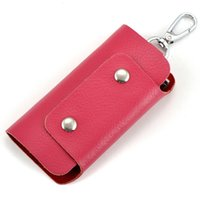 Wholesale company packages for sale – best Charm2019 Leather Genuine Automobile Key Package Guangzhou Night Market Man Gift Company