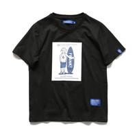 Wholesale new style short tshirts online - Mens Shirts Harajuku Cotton Skateball Print Loose Short Sleeve Summer New Hot Sale Casual Style Tshirts