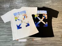 ingrosso vestiti di estate delle donne di qualità-2019 Uomini Estate Marchio Abbigliamento T-Shirt Uomo Maniche corte Hip Hop Streetwear T Shirt Mens Designer t shirt Donne di alta qualità Tees Fzw911