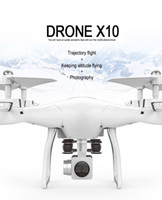 Wholesale X10 drone aerial wifi map transmission four axis aircraft fixed height remote control aircraft cross border explosion supply source drone