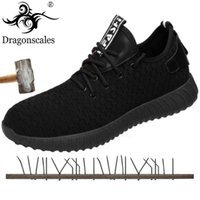 Wholesale wear rubber shoes for sale - Group buy Summer Men s High Quality Mesh Work Safety Shoes Lightweight Comfortable Non slip Wear Breathable Puncture Men s Shoes