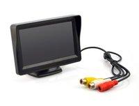 Wholesale 2019 inch LCD Display Rear View Monitor Car Monitor Waterproof HD Reverse Backup Car Camera LED Night Vision