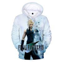 Wholesale fashion fantasy game resale online - Aikooki Game Final Fantasy VII D Print Hoodies Man Fashion Sweatshirt student Pullover Men Game Harajuku Hoodie Hip Hop hoodies