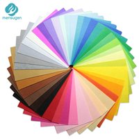Mensugen 40 colors lot 20X30cm Felt Fabric,Polyester,Non-woven Felt,1 MM Thick,Handmade fabric DIY Not woven Cloth