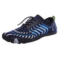кроссовки сандалии мужчина оптовых-Hot Summer Men Water Shoes Women Beach Shoes Breathable Barefoot Upstream Sneakers  Swimming Diving Fishing Sandals