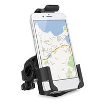motorlu tezgahlar toptan satış-Gidon Cep Telefonu Tutucu 360 Derece Dönebilen Motor Bike Dağı Standı iPhone Samsung için Yüksek Kalite Dayanıklı Cep Telefonu Braketi Cradle