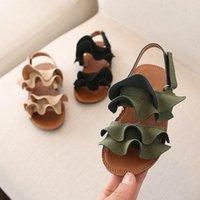 Wholesale slippers for girls resale online - Children Girls Sandals Shoes Summer Baby Girls Toddler Sandals Princess Shoes for Kids Sandals Girls Infant Sandal Slippers