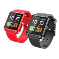 smartwatch verkauf großhandel-Neue Smart Watch U8 Smartwatch U Uhr für iOS iPhone Samsung Sony Huawei Android-Handys im Geschenkkarton Heißer Verkauf