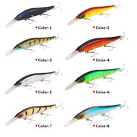 Wholesale fishing lures for sale - Group buy Luminu cm g submersible minnow bait bionic bait large sea fishing lure fishing gear
