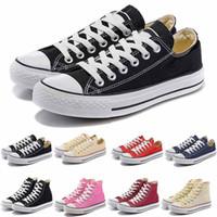 Wholesale canvas shoe price resale online - New Factory Promotional Price Canvas Shoes Women and Men Low Style Classic Canvas Shoes Casual Canvas Shoe