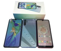 Wholesale chinese smartphone hdc resale online - 6 inch Goophone HDC P30 Pro GB Ram GB ROM Quad Core MT6580P Cellphone Dual sim Unlocked smartphone New Arrival