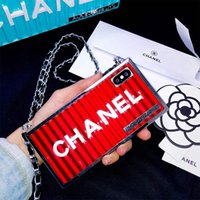 Wholesale s note case for sale – best One Piece Fashion Brand Container Square New Designer Phone Cases for Iphone XR XS MAX X S plus Back Cover for gifts